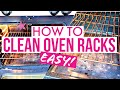 HOW TO CLEAN OVEN RACKS! (Super Easy Way!!)/ Cleaning Motivation / Clean with Me /MomPreneur