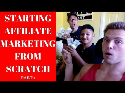 Starting Affiliate Marketing From Scratch NO MONEY TO START (Part 1)