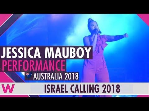 "Jessica Mauboy ""We Got Love"" (Australia 2018) LIVE @ Israel Calling 2018"