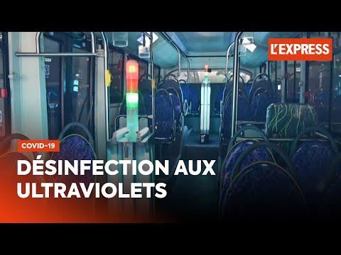 Covid-19: désinfection aux ultraviolets pour des bus chinois