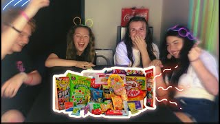 Trying JAPANESE CANDY! *bad experience*