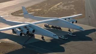 Stratolaunch: Das weltgrößte Flugzeug macht die ersten Rollversuche