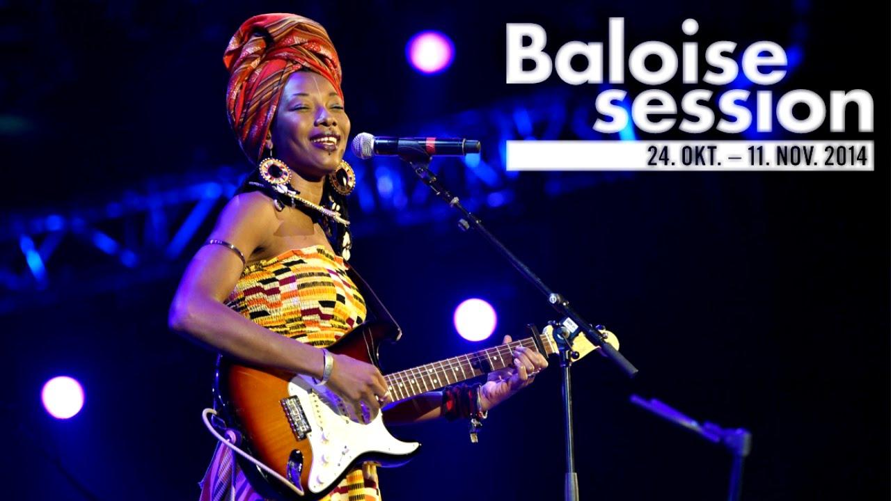 Fatoumata Diawara & Roberto Fonseca - Baloise Session 2014