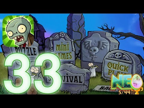 Plants Vs. Zombies: Gameplay Walkthrough Part 33 - Survival Endless 16 Flags (iOS Android)