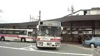 古賀駅に西鉄の新車バスが登場!