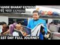 Vande Bharat Express Full Journey | New Delhi to Varanasi | वंदे भारत एक्सप्रेस