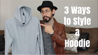 3 Ways to Style a Hoodie