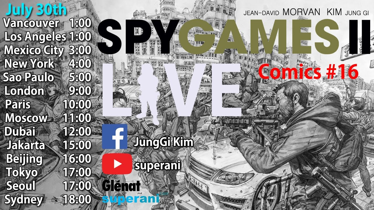 2020.07.30 Live Comics (Spy Games 2) #16