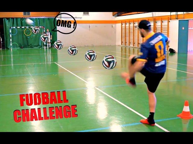 FREISTOß-FUßBALL CHALLENGE | KsFreak VS Krappi