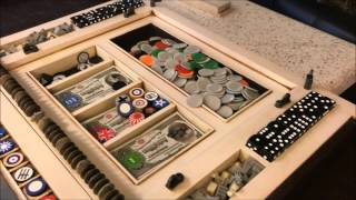 Axis and Allies Portable game table