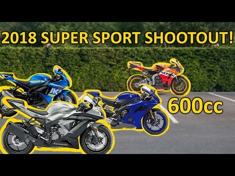 The Best 600cc Sport Bike for 2018 (Buyers Guide)