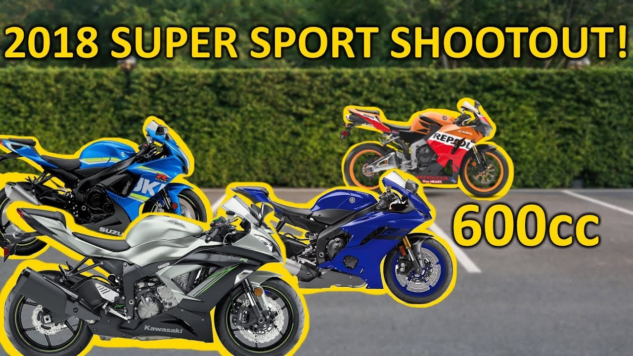 The Best 600cc Sport Bike for 2018 (Buyer's Guide)
