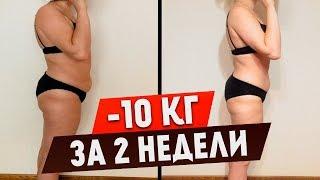 Как похудеть на 10 кг за 2 недели. Экспресс похудение за 2 недели в домашних условиях