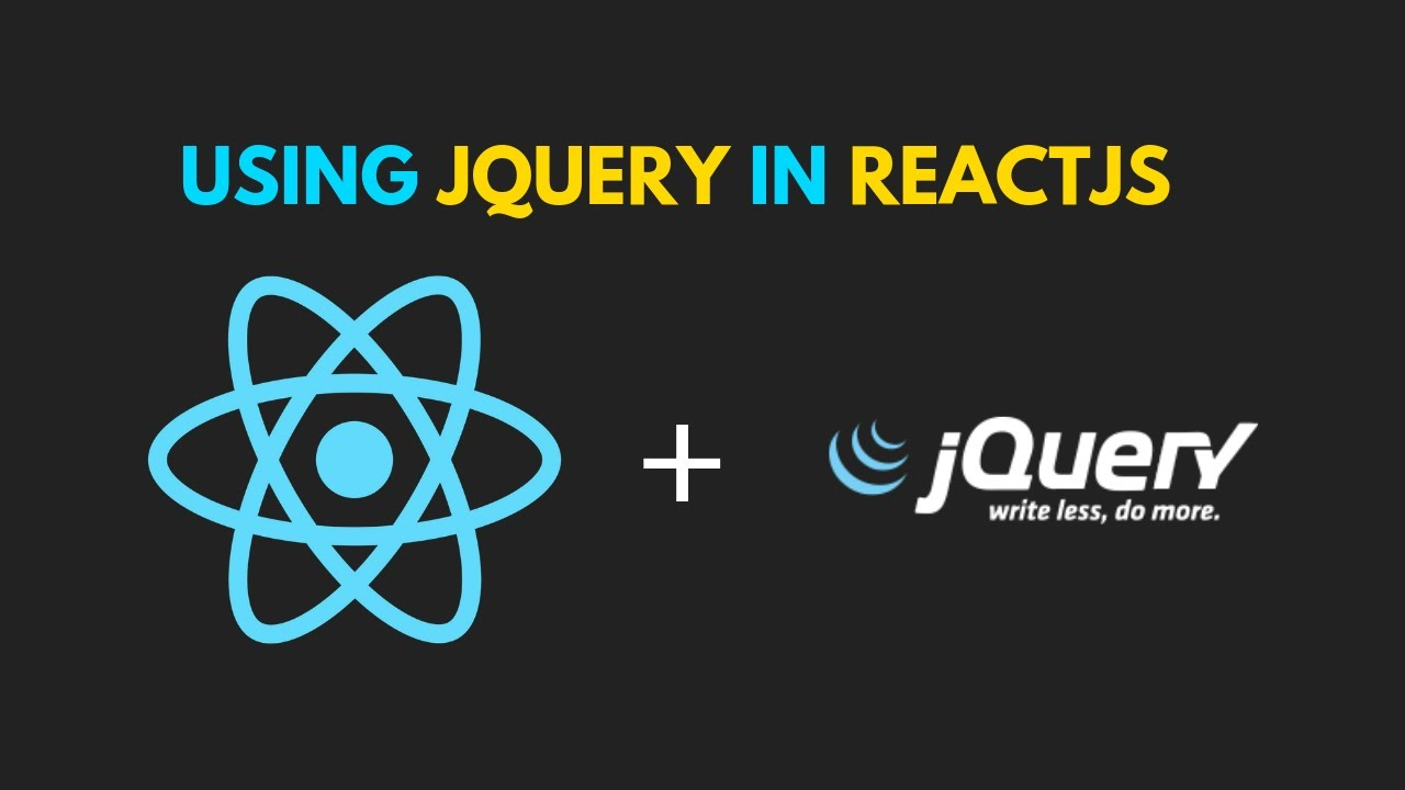 Using jQuery with ReactJS