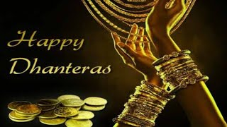 Happy Dhanteras 2019 // good wishes ,image , greetings 🎉🍫