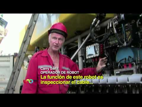 ¿Se Imaginan Cómo Se Coloca Un Cable De Fibra óptica Bajo El Mar? Aquí La Respuesta