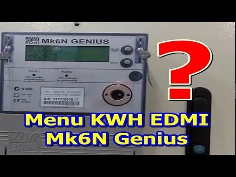 KWH Meter EDMI Mk6N Genius Display