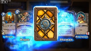 Elven Minstrel - Kobolds and Catacombs Hearthstone rare card pack opening