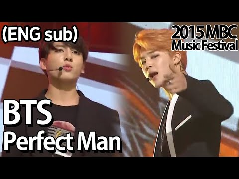 [2015 MBC Music festival]  BTS - Perfect Man(Original by, SH