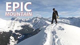 EPIC MOUNTAIN TOP SNOWBOARDING IN MORZINE, FRANCE