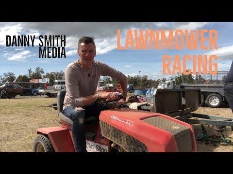 Lawnmower Racing Tasmania with Danny