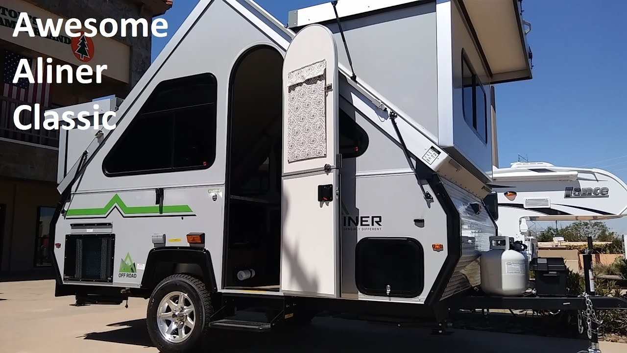 Aliner Classic, An Awesome Little A Frame Camper - YouTube