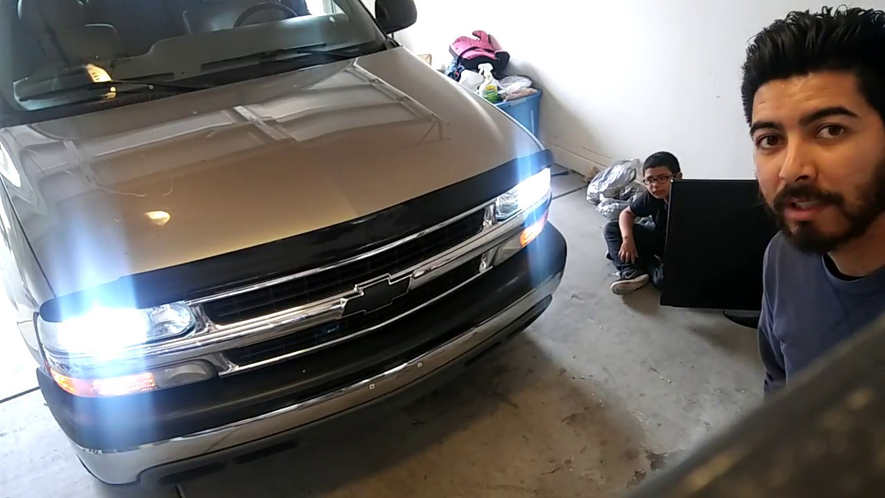 2002 Chevy Tahoe Hid Lights Install