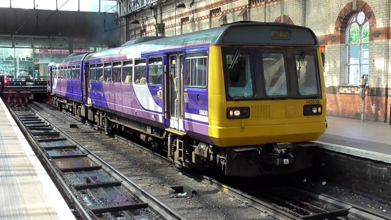 Northern Rail Class 142 Departing Manchester Piccadilly