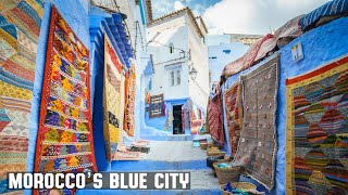 🇲🇦 Morocco's Blue City - Chefchaouen Walk About with filming update