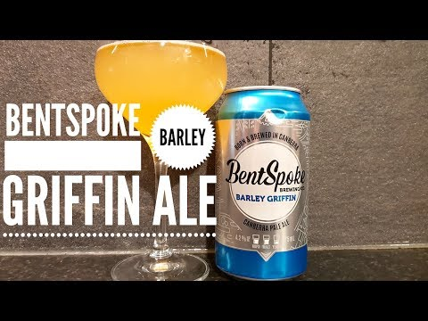 Bentspoke Barley Griffin Canberra Pale Ale ,Bentspoke Brewing Company | Australian Craft Beer Review