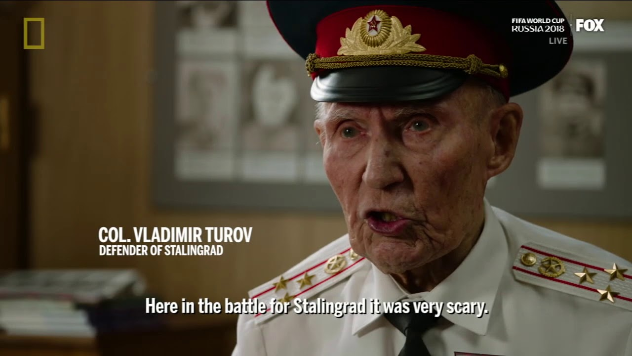 THE BATTLE OF STALINGRAD - for National Geographic