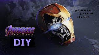 ทำหน้ากาก Iron Man ที่พังยับเยินใน Avenger