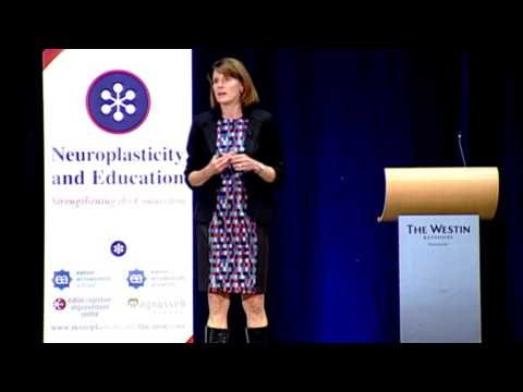 Dr. Lara Boyd:  Plasticity and the Brains of Children with Learning Disabilities