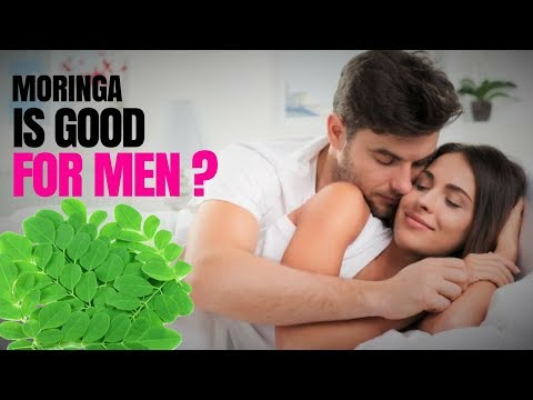 Moringa is good for men