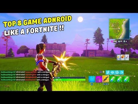 8 Games Android Terbaik Mirip Fortnite Mobile I Best Android Games Like A Fortnite Mobile