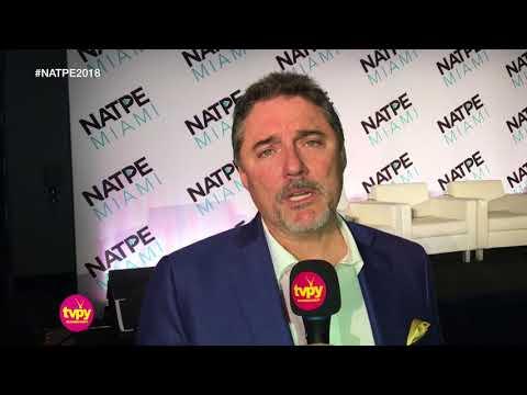 Eduardo Ruiz de A+E Networks habla en NATPE 2018