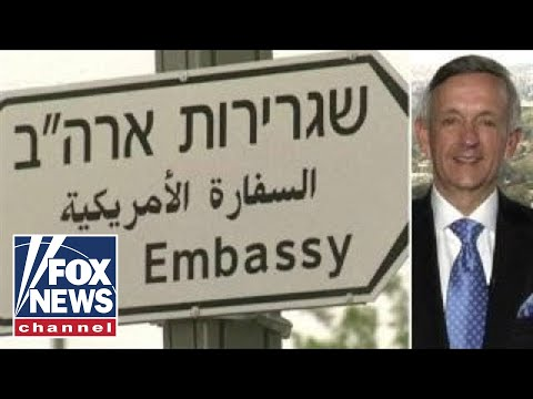 Jeffress leads opening prayer for US embassy in Jerusalem