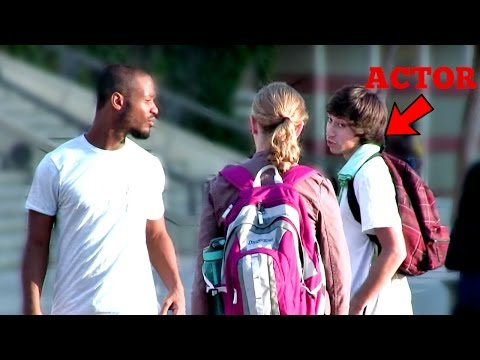 Racism Social Experiment at Ucla | Girl Cries