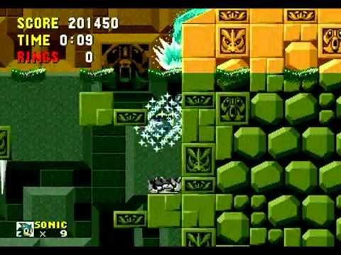Sonic 1: The Ring Ride (Genesis) - Longplay