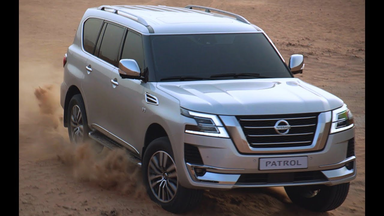 the new nissan patrol 2020 - off-roading in dubai desert