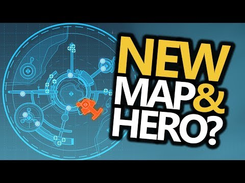 Horizon Lunar Colony NEW MAP & HERO HAMMOND HINTS! (Overwatch)
