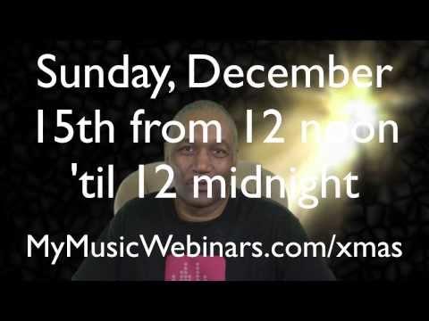 12 Hour Music Industry Christmas Hangout & Telesummit