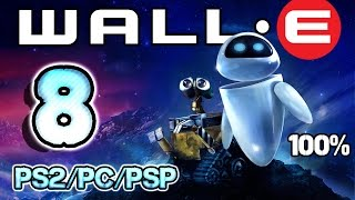Wall-E Walkthrough Part 8 - 100% (PS2, PSP, PC) Level 14 ~ Robot Rescue