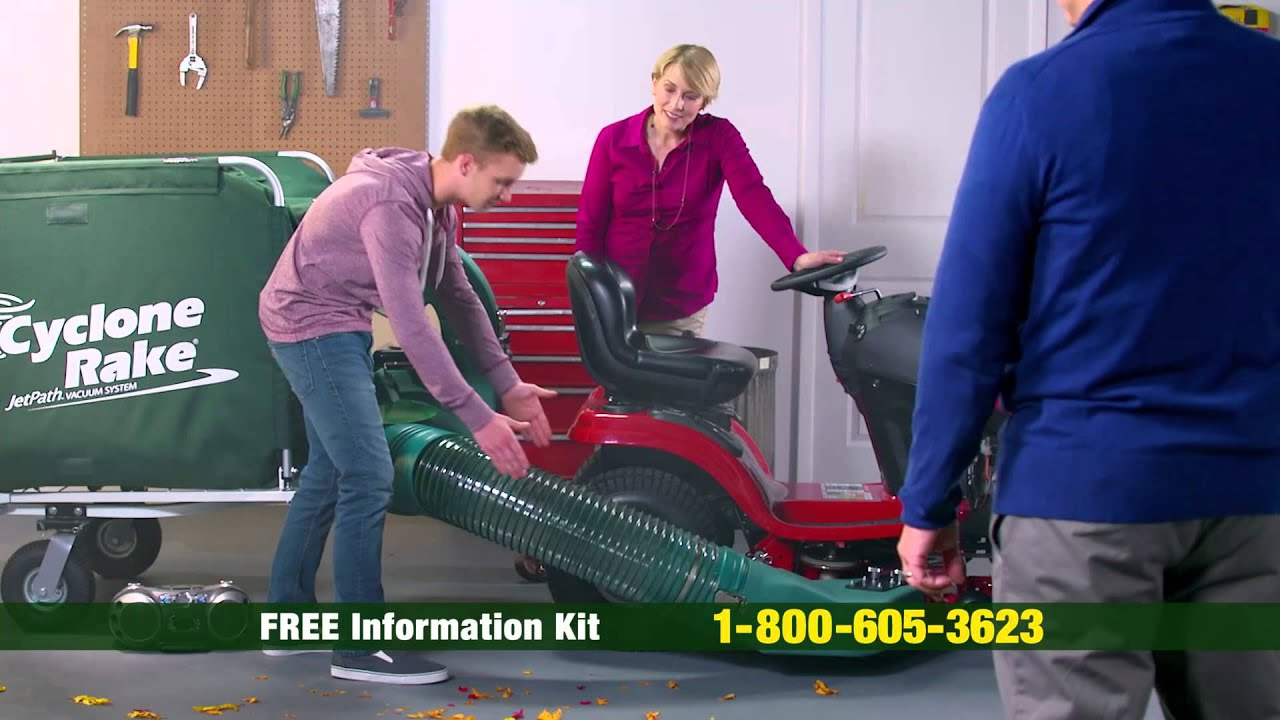 The Surprise Cyclone Rake And Lawn Vacuum