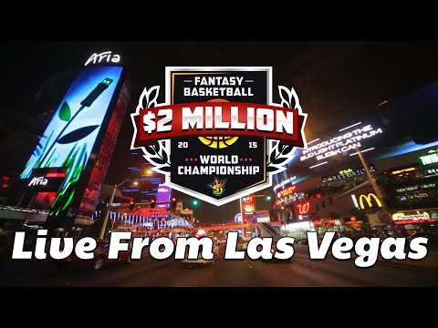 DraftKings Fantasy Basketball World Championship - LIVE From Las Vegas