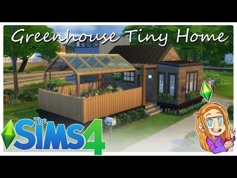 The Sims 4 | Greenhouse Tiny Home Speed Build