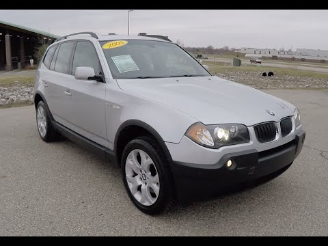 Used 2005 BMW X3 3 0i For Sale | Martinsville, Indiana | Luxury SUV | P10207