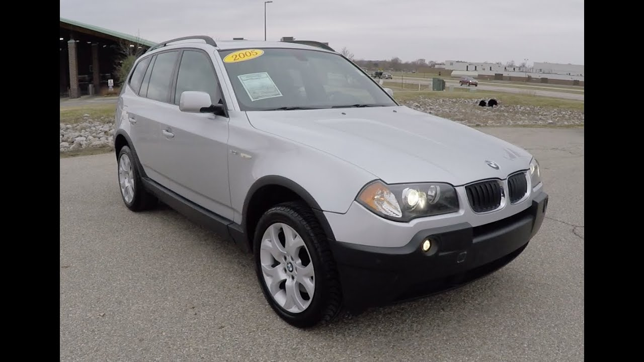 used 2005 bmw x3 3 0i for sale martinsville indiana luxury suv p10207 youtube. Black Bedroom Furniture Sets. Home Design Ideas