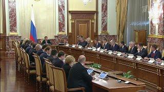 Меры по поддержке малого и среднего бизнеса и импорт лекарств обсуждали на заседании правительства.