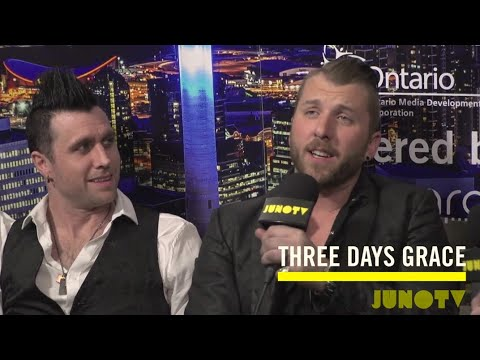 Backstage with Three Days Grace at The 2016 JUNO Awards